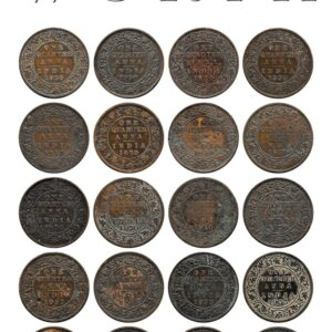 British India Coin value -20 coins