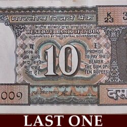 D-29 10 Rupee Note 'K' Series  Sign by S Venkitaramanan