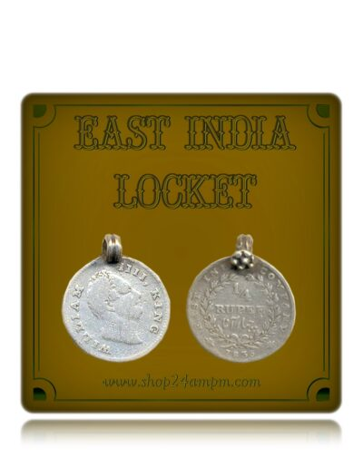 1835 1/4 Quarter Rupee King William East India Locket Coin