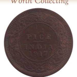 1917 1/2 Pice Coin British India King George V
