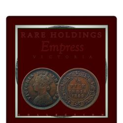 1899  1/2 Half Pice British India Queen Victoria Empress