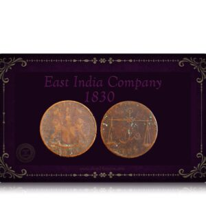 1830 Quarter Anna East India Company