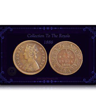 1886 1 by 12 British India Queen Victoria Empress best buy