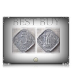 1972 5 paise Calcutta Mint Best Buy Value Coin