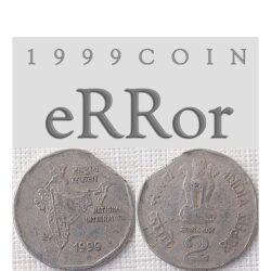 1999 2 Rupee eRRor Coin Worth Buying Value