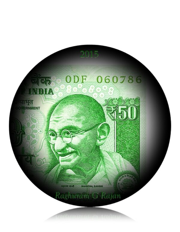 786 50 Rupee UNC Note Sign by Raghu