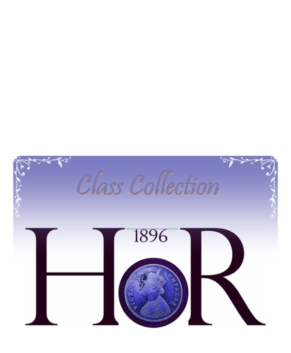 Half Rupee 1896 Queen silver coin