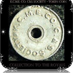 K.C.M.E. Co. C&S Society - token coin