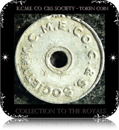 K.C.M.E. Co. C&S Society - token coin