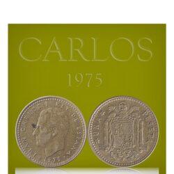 Spain 1 Peseta 1975 Juan Carlos I Coat of arms of Spain Europe Coin