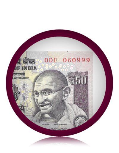 Tripple Ending UNC Note 50 Rupee UNC Note Sign by Raghuram G Rajan 2015