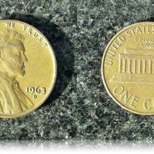 1963 1 Cent USA Coin - RARE COIN