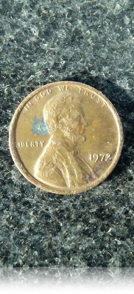 1972 1 Cent USA Coin - Class Collection O