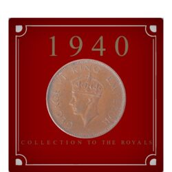 1940 Quarter Anna King George VI