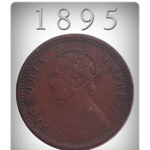 1895 One Twelve Anna Queen Victoria Empress