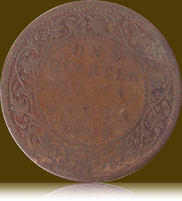 1906 Quarter Anna (R)