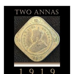 1919 2 Annas King George V Worth Collecting