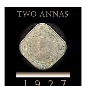 1927 2 Annas King George V - Bombay