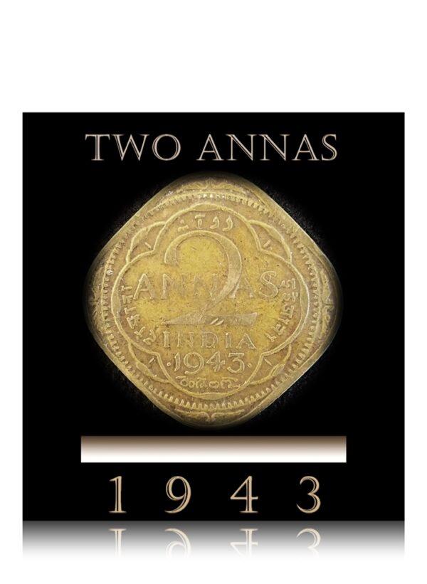 1943 2 Annas King George VI Best Buy o