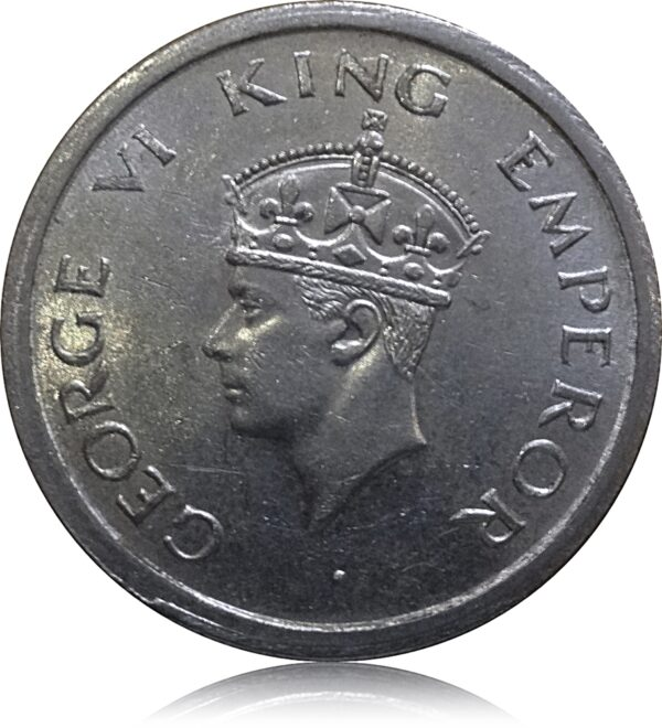1947 1 Rupee King George VI - Best Value Coin on the Train O