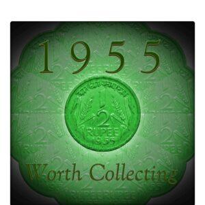 1955 Half Rupee Republic India Best & Worth Collecting found Rare