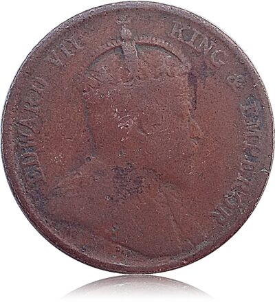 1905 Quarter Cent King Edward VII O