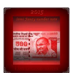 2015 Old 500 Rupee Note Sign by Raghuram Ji Rajan