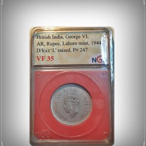NGS Certified Coin 1944 King George VI Lahore Mint - best value online
