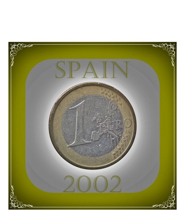 1 Euro Spanish Coin Class Collection Best buy coin value