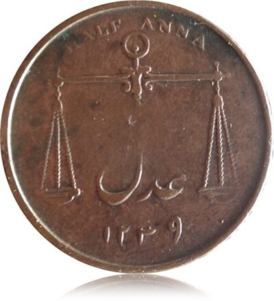 1834 Half Anna East India Company Worth Collecting Best Buy value online R