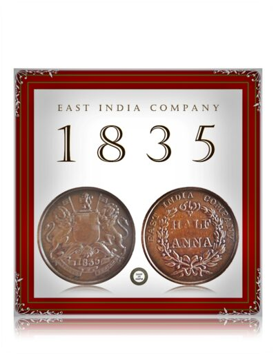 1835 Half Anna East India Company Worth Collecting Best Buy value online