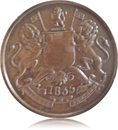 1835 Half Anna East India Company Worth Collecting Best Buy value online O