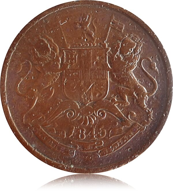 1845 Half Anna East India Company Worth Collecting Best Buy value online O