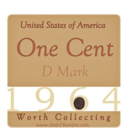 1964 One Cent United States of America