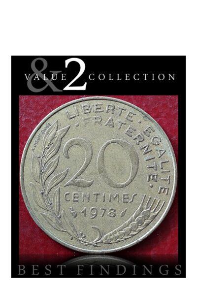 1978 Francia 20 centimes Republique Francaise
