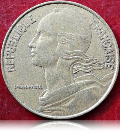 1978 Francia 20 centimes Republique Francaise (R)