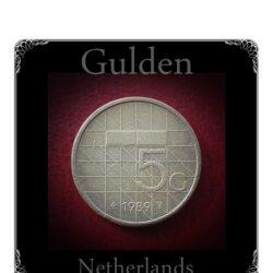 1989 5G Gulden Beatrix Netherlands