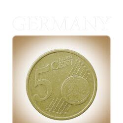 2002 5 Cents Euro Germany