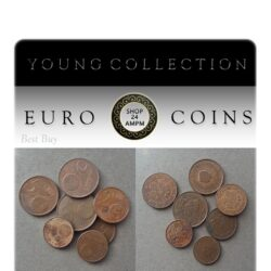 7 Euro Coins - Young Collection for beginners
