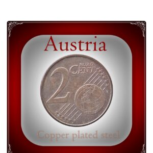 Austria 2 euro cent - best Value online