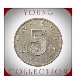 2013 5 WU Jiao Zhongguo Renmin Yinhang -Best Young Hobby Collector's Choice People's Bank of China