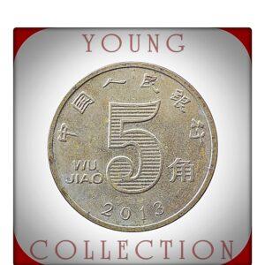 2013 5 WU Jiao Zhongguo Renmin Yinhang -Best Young Hobby Collector's Choice People's Bank of China