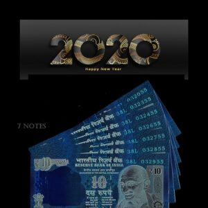 2011 10 rupee old semi fancy 7 notes Worth Collecting