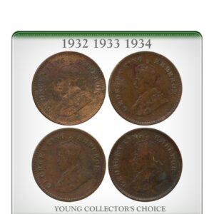 1932 1933 1934 1 12 Anna King George V worth value buy