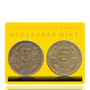 2009 5 Rupee Coin ref