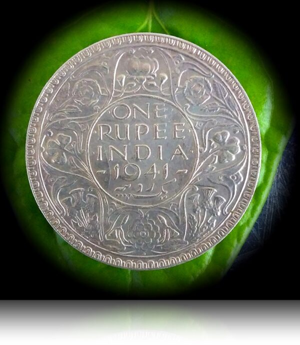 1941 1 Rupee King George VI Bombay Mint (R)