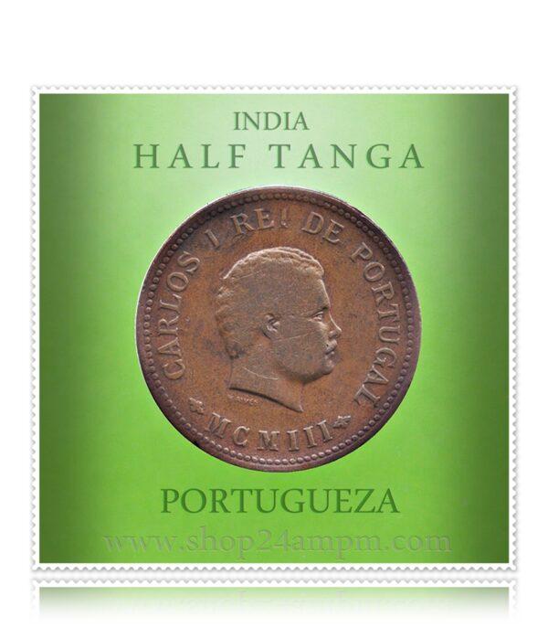 1903 Half Tanga India Carlos