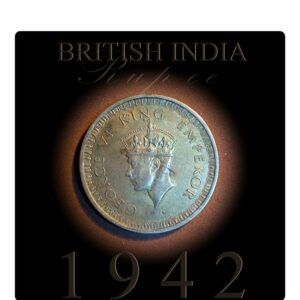 1942 1 Rupee King George VI British India