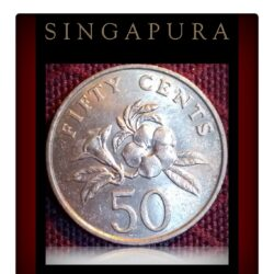 1987 50 cents Singapura Singapore coin Worth Collecting