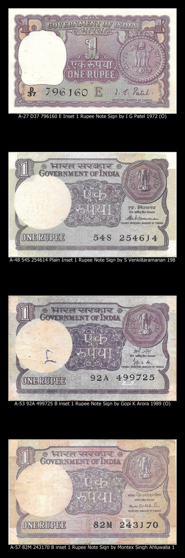 1 rupee notes combo collection best value worth online O